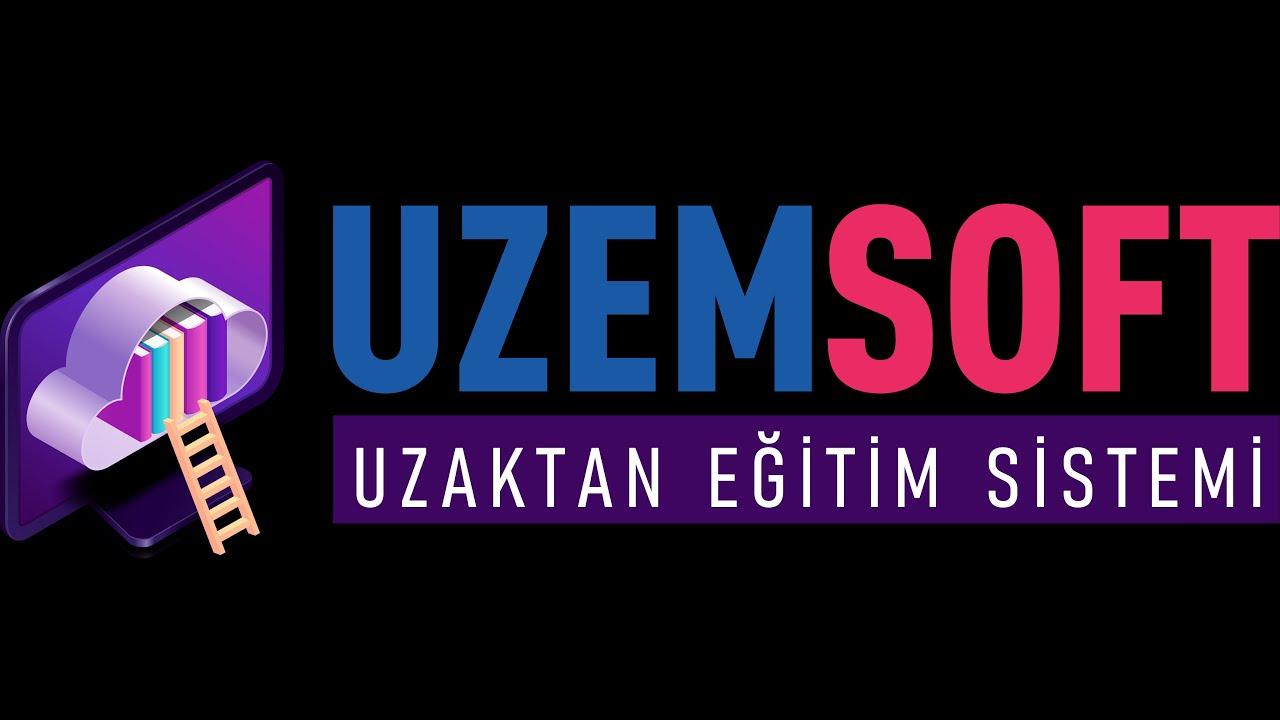 Uzemsoft Uzaktan Eğitim Sistemi LMS sistemi, online deneme ve canlı sanal sınıf Yönetimi