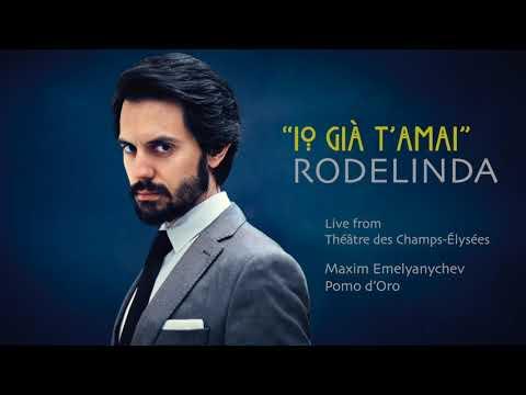 "Juan Sancho sings ""Io già t'amai"" from Rodelinda, by G. F. Handel"
