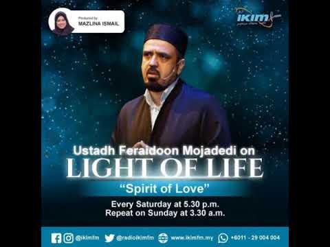 Maulana Rumi the Spirit of Love Ustadh Feraidoon Mojadedi on Radio IKIM FM