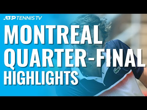 Nadal Reaches Semis; Khachanov, Medvedev To Face Off | Montréal 2019 Quarter-Final Highlights