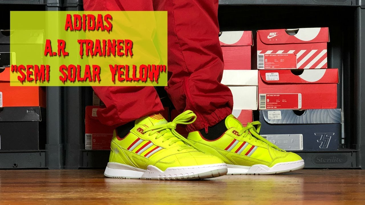 ADIDAS A.R. TRAINER REVIEW \u0026 ON FOOT