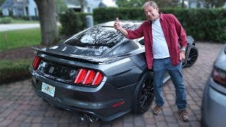 Dad Vs. Shelby GT350