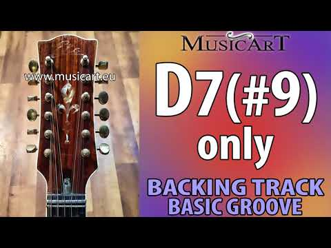 D7#9 one chord backing track