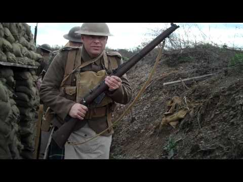 Walking the Trenches.  Newville, PA 2010