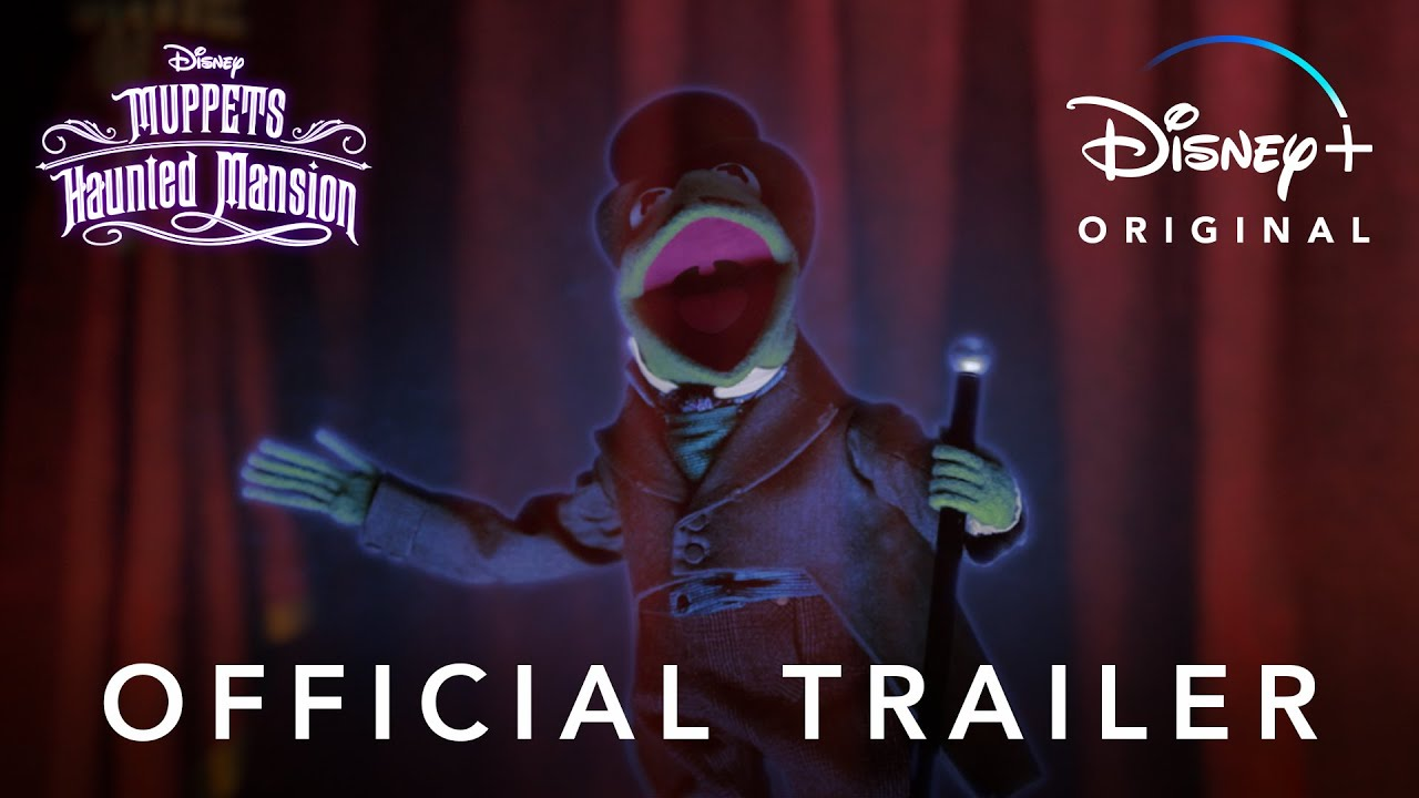 """NEW""""MUPPETS HAUNTED MANSION"""" TRAILER, STREAMING EXCLUSIVELY ON DISNEY+ OCTOBER 8"""