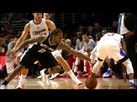 Kawhi Leonard is the 2015 KIA NBA Defensive Player of the Year