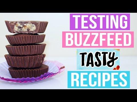 TASTY BUZZFEED RECIPES TESTED #4