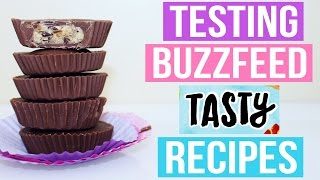 TASTY BUZZFEED RECIPES TESTED #4