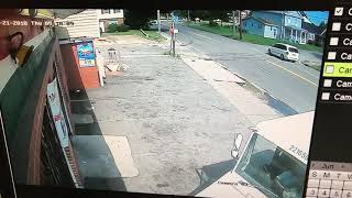 Accident to the Store church food mart in Portsmouth Blvd Virginia