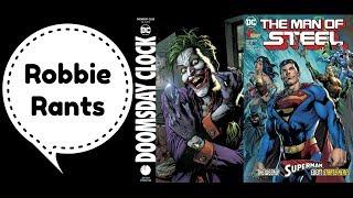 Weekly Comic Book Review 05/30/18 - Robbie Rants #193