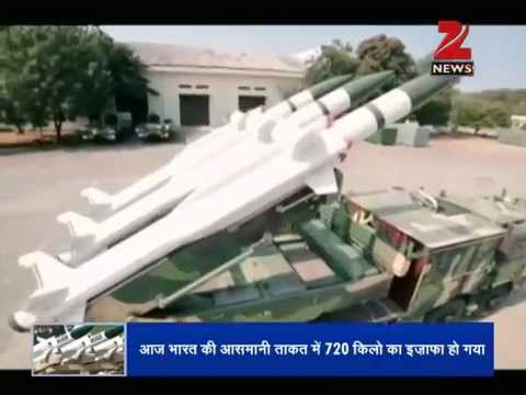DNA: Indigenously-built Aakash missile inducted in IAF
