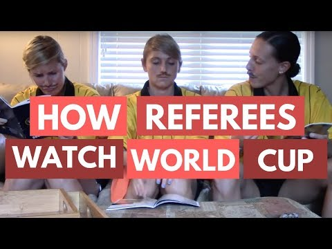 How Refs Watch the World Cup
