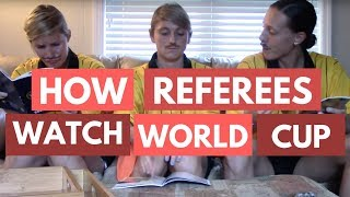 How Refs Watch the World Cup 2014