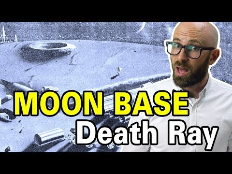 That Time The U.S. Was Going To Build A Massive, Death Ray Equipped, Military Moon Base