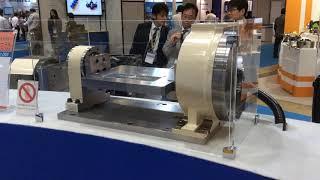 Démonstration de la vitesse de rotation du diviseur numérique à moteur-couple RDS200
