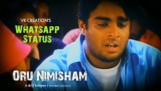 Oru Nimisham Kuda From Minnale | #venkateshkannan  | #whatsappstatus |