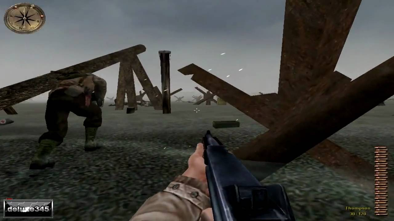 medal of honor: allied assault gameplay (pc hd) - youtube