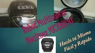 Presentación Robot Cocina Multicooker Moulinex MK708810