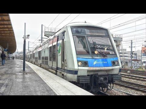 Gare Rosa Parks - RER E, Trains, TGV, ICE, TER, Intercités,