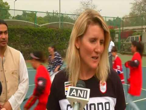 Canada's Trudeau attends hockey event in New Delhi