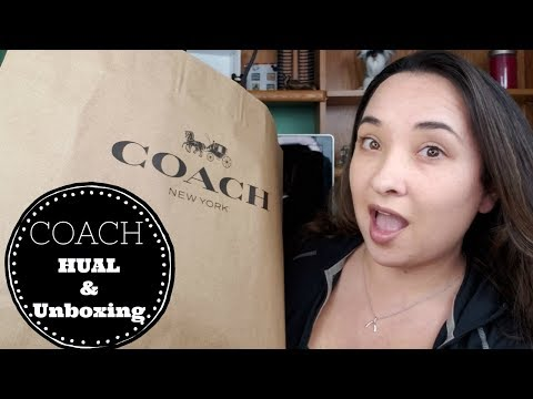 Coach Purse Unboxing | Adding to my Collection | Handbag Review & Haul