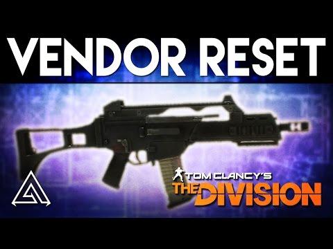 The Division | Vendor Reset October 1st - 1.4 Preparation, Blueprints & More!