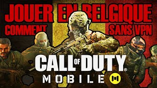 COMMENT INSTALLER ET JOUER À COD MOBILE EN BELGIQUE ? Tuto Call of Duty Mobile sans VPN Android iOS