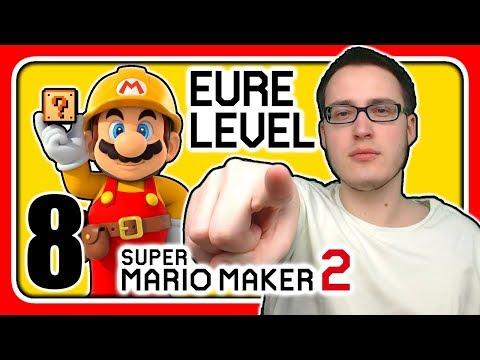 Livestream! Super Mario Maker 2 [EURE Level] (Stream 8)