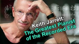 Jazz Master Class #35 w / Dave Frank - Keith Jarrett - The GREATEST Pianist of the Recorded Era