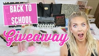 ✏️ BACK TO SCHOOL GIVEAWAY 👜| *CLOSED* Michael Kors Purse, School Supplies & More