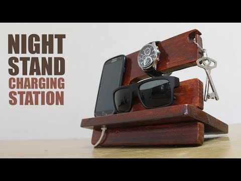 How to make a nightstand charging station