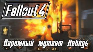 Fallout 4 Прохождение 14 Огромный мутант Лебедь