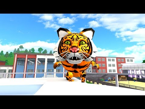 HOW TO BE A TIGER IN ROBLOXIAN HIGHSCHOOL!! - Most Popular Videos