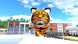 HOW TO BE A TIGER IN ROBLOXIAN HIGHSCHOOL!!