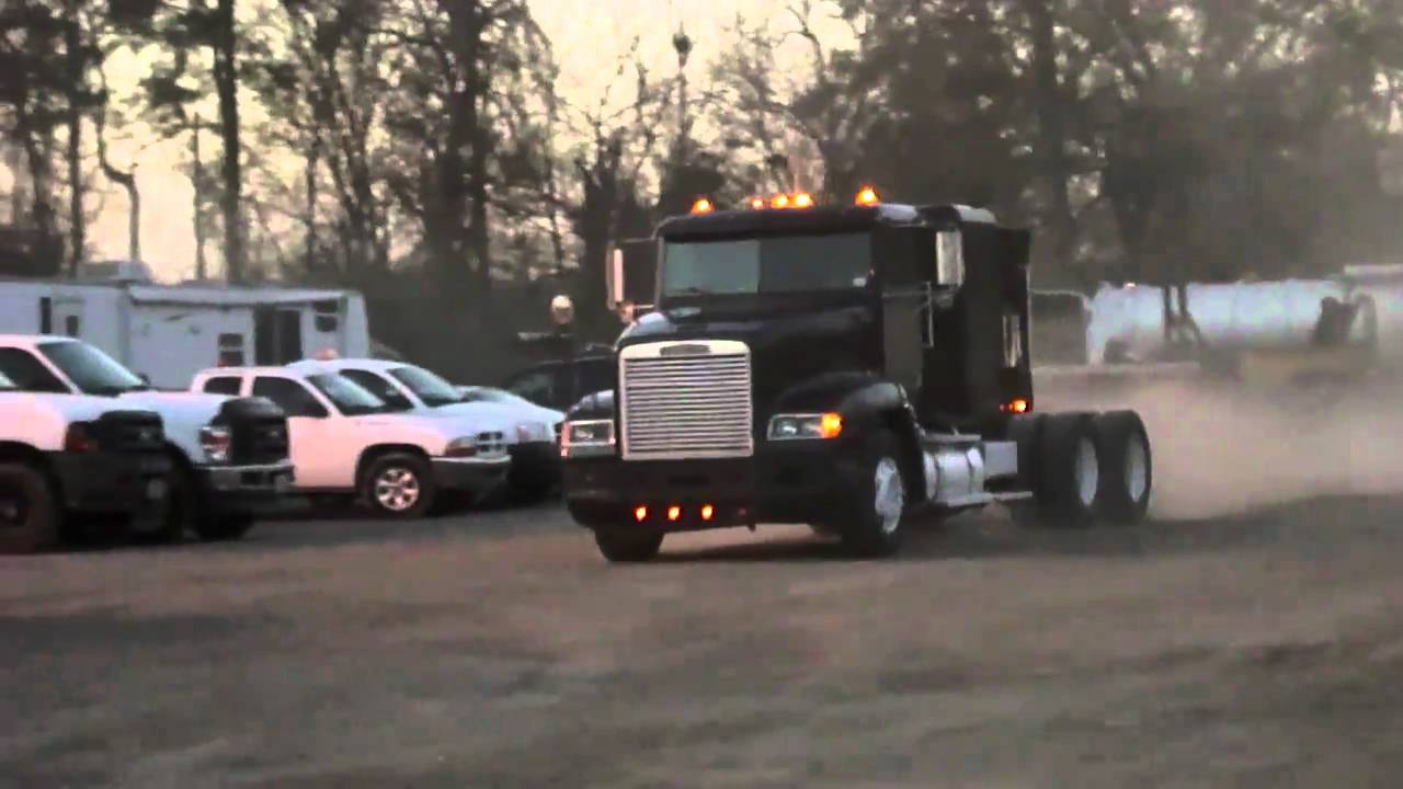 Cummins For Sale >> 1996 FREIGHTLINER FLD TRACTOR TRUCK CUMMINS M11 - YouTube