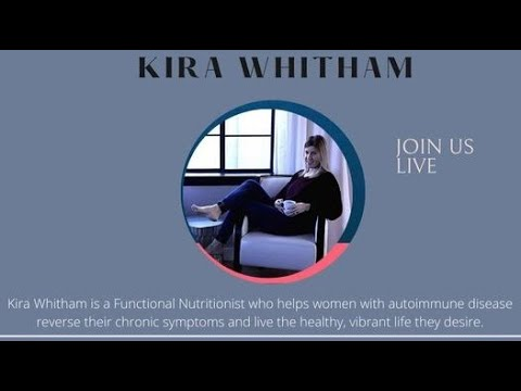 Join me LIVE today, July 22, when I interview Kira Whitham about Autoimmune Disease.