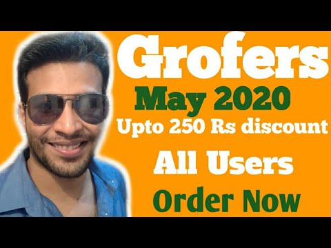 (Expired)Grofers Online Grocery Discount In Lockdown | Grofers May 2020 offer | Upto 250 Rs Discount