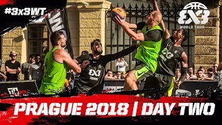 FIBA 3x3 World Tour 2018 - Prague Masters 2018 | Day Two | Re-Live