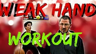 How To Improve Your Weak Hand in Basketball (The Quickest Way)