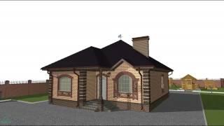 Интересный  проект небольшого одноэтажного дома  B-063-ТП(, 2016-10-24T09:34:57.000Z)