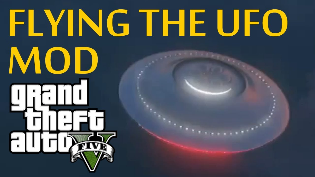 ☆ GTA 5 - Flying the UFO - PS3 Mod (GTA V Mods and Glitches)