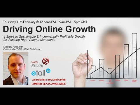 4 Steps to Drive Your Online Growth Webinar