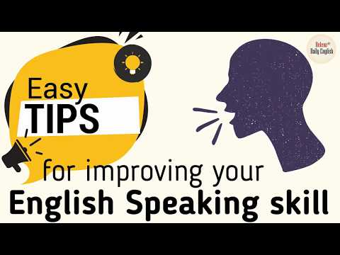 How To Improve English Speaking Skill (by Yourself)   Easy Tips For Learners