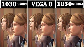 NEW GT 1030 (GDDR5/GDDR4) vs VEGA 8 | Tested 15 Games |