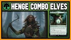 🌳 THE GREAT HENGE ELVES 【 Mono Green Combo Elves 】 ► MTG Modern Gameplay ◄