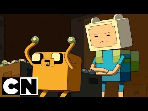 Adventure Time x Minecraft | Diamonds & Lemons | Cartoon Network