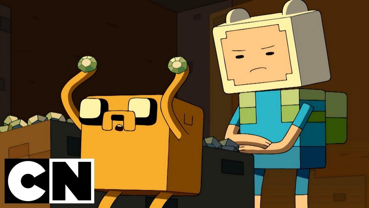 Adventure Time X Minecraft Diamonds Lemons Cartoon Network