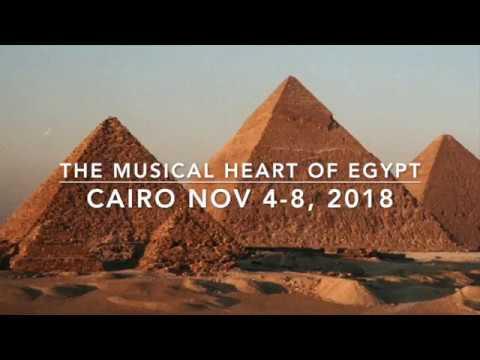 Nov 4-8, 2018 - Musical Heart of Egypt