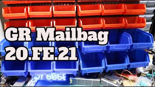 GR Mailbag 20.FE.21 - Parts Storage, Light Pipes, Things & Other Stuff