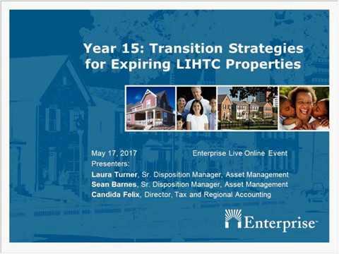 Year 15 Transition Strategies for Expiring LIHTC Properties 20170517 1720 1